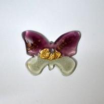 Πεταλόυδα με χρυσό
