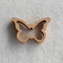 Πεταλούδα Ξύλινη Συσκ. 2τεμ.