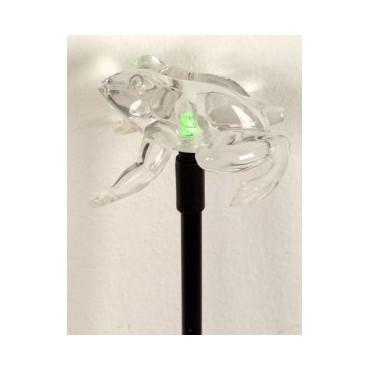 Ηλιακή λάμπα led βάτραχος