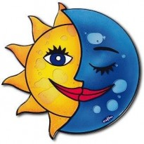 Mousepad Ήλιος Φεγγάρι