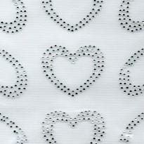 Σιδερότυπο μοτίβο καρδιές