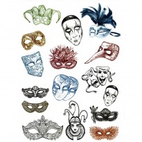 Ριζόχαρτο μάσκες