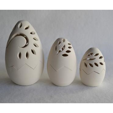 Αυγό ανοιγόμενο με φύλλο