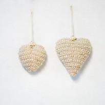 Καρδιά με πέρλες