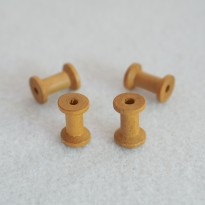 Κουβαρίστρα ξύλινη (4 τεμ.)