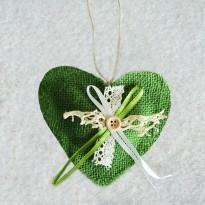 Μαξιλάρι Καρδιά με σχέδιο