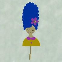Μικρή Κρεμάστρα Τοίχου - Κορίτσι
