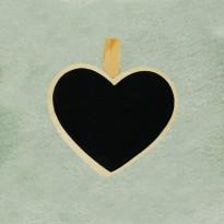 Καρδιά μαυροπίνακας