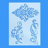 Stencil ζωγραφικής Φύλλα