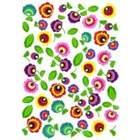Ριζόχαρτο Μοτίβο με Λουλούδια