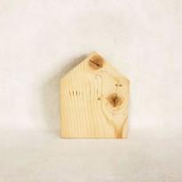 Ξύλινα σπιτάκια πλακέ