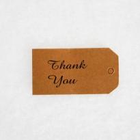 """Ταμπελάκι """"Thank you"""""""